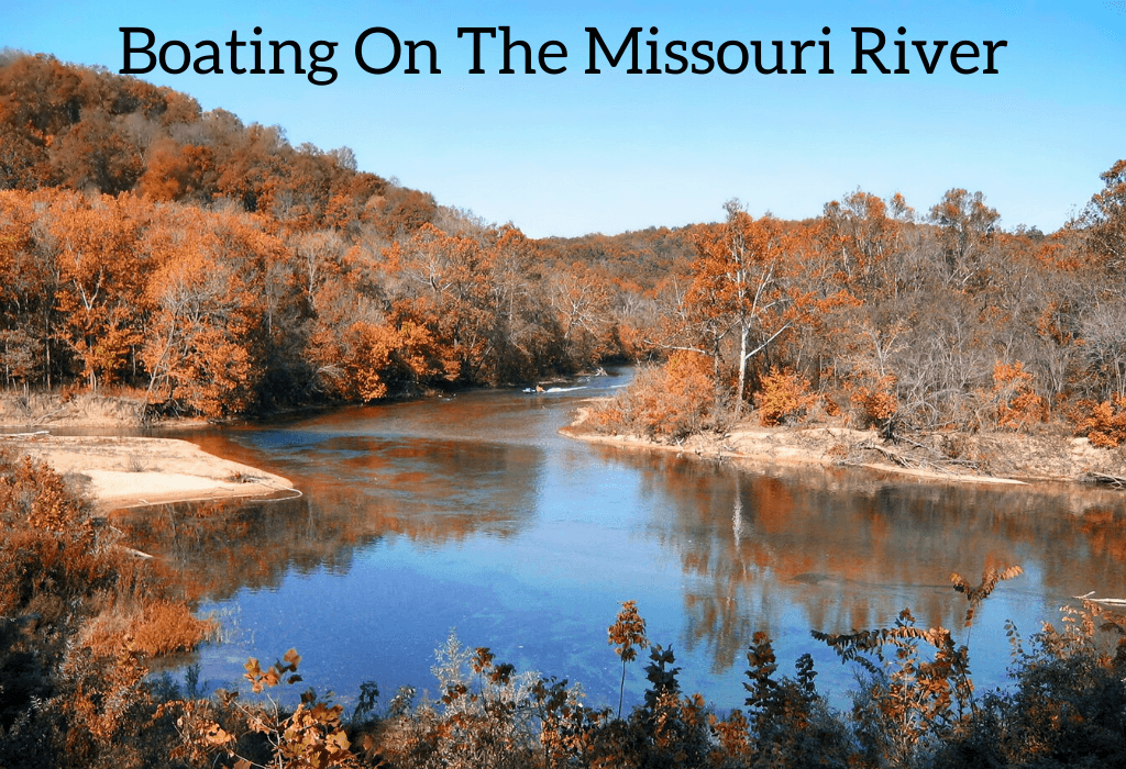 Boating On The Missouri River