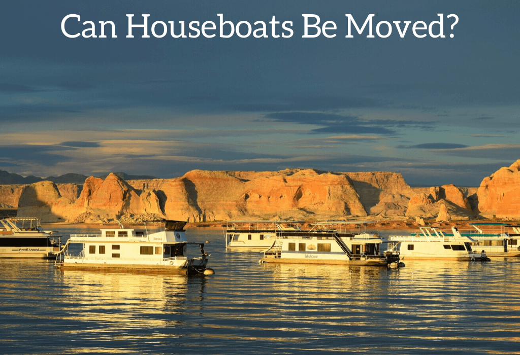 Can Houseboats Be Moved?